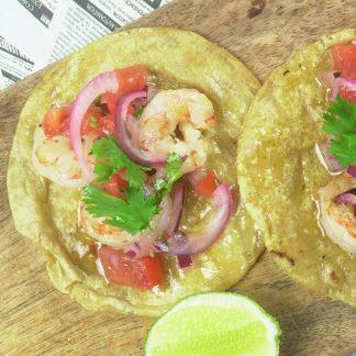 Tacos Camaron
